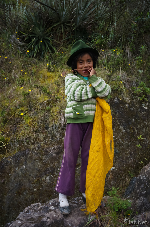 Mary the Andean girl who have a little lamb