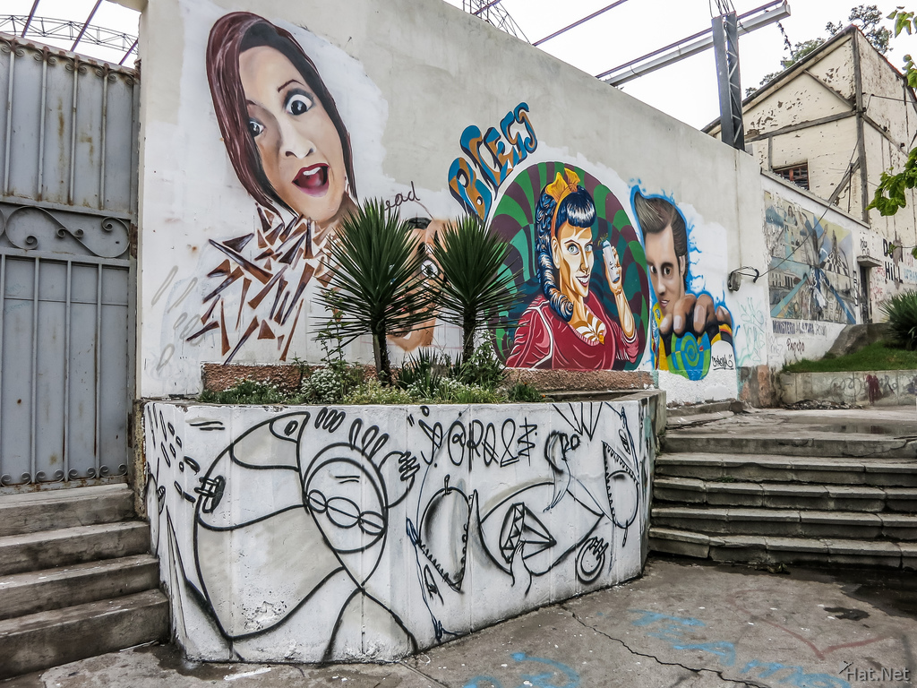 April Plaza of Riobamba