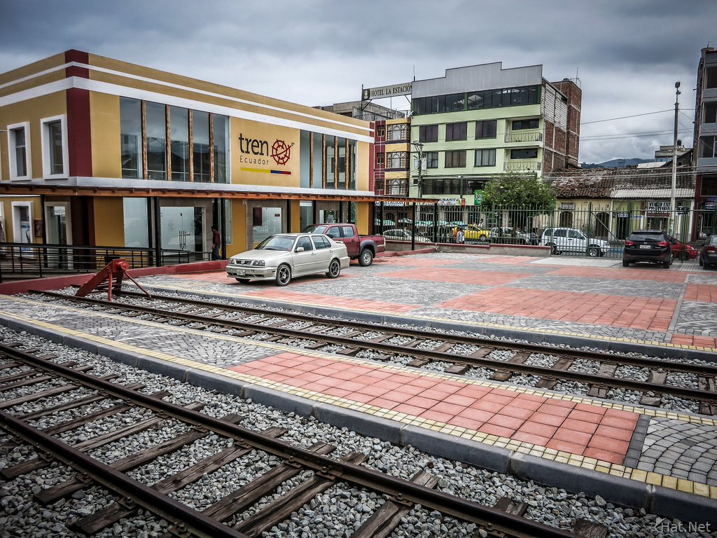Riobamba Train station