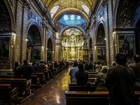 Church of the company Quito, Pichincha province, Ecuador, South America