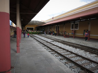 Riobamba Train Station Latacunga, Riobamba, Colopaxi Province, Ecuador, South America