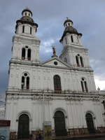 Churches of Cuenca Alausi, Cuenca, Ecuador, South America