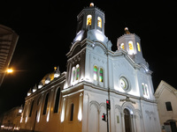 White Church of Cuenca Cuenca, Ecuador, South America