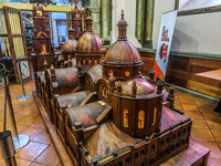 Museum of Old Cathedral Cuenca, Ecuador, South America